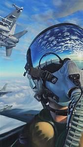 Wallpaper, Pilot, Fighter, Aircraft, Artwork, 4k, Art, 20318