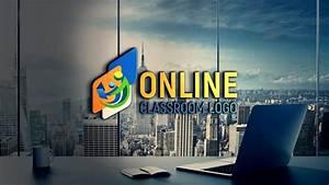 Free, Online, Class, Logo, Design, Free, Psd, Template, U2013, Graphicsfamily