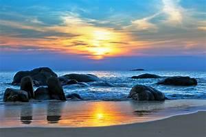 Wallpaper, Sea, 5k, 4k, Wallpaper, 8k, Pacific, Ocean, Best, Beaches, In, The, World, Shore, Stones
