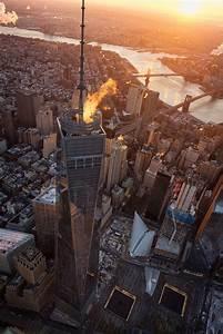 One, World, Trade, Center, New, York, City, Print, Aerial