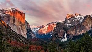 El, Capitan, Yosemite, Valley, 4k, Wallpapers