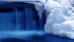 Wallpaper, Lake, 4k, Hd, Wallpaper, Waterfall, Water, Snow, Ice, Nature, 5184