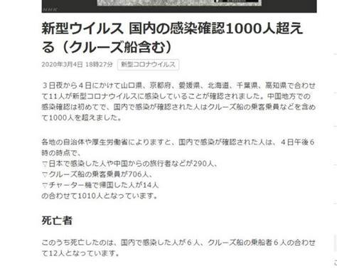 日本新冠治疗方案公布!日本新冠肺炎疫情最新消息 确诊病例 ...