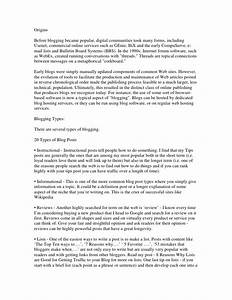 informal essay