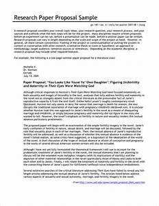 Proposal Essay Template Format Of Proposal Writing Letter Essay
