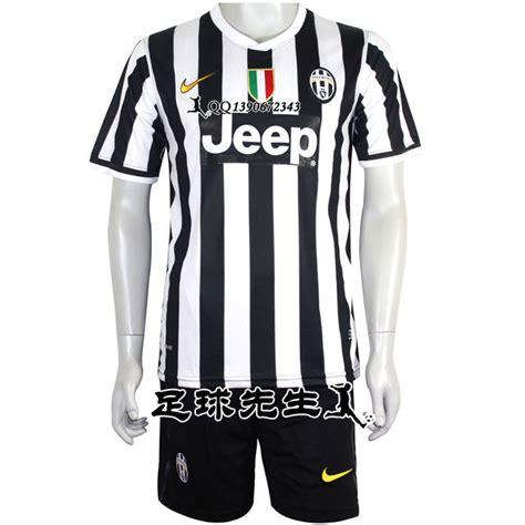 13-14尤文图斯球衣 尤文图斯足球服训练服正版 主场短袖套装队服